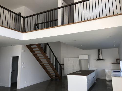 Escalier-rampe