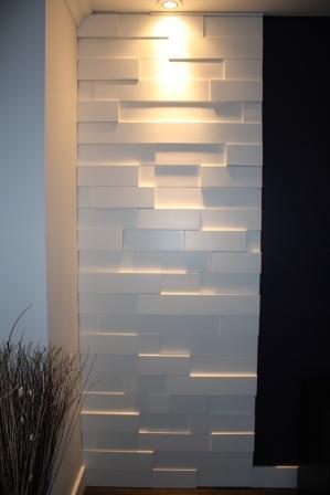 Mur en relief
