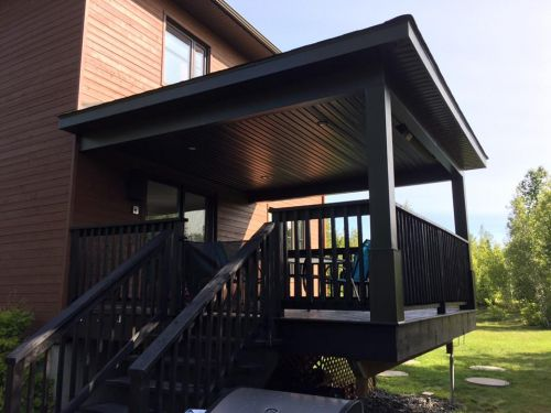 Ajout toit sur patio