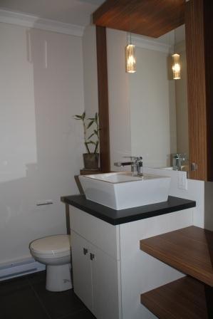 Salle d'eau (Lavabo petit espace)