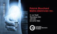 Patrick Bouchard, Maître électricien inc